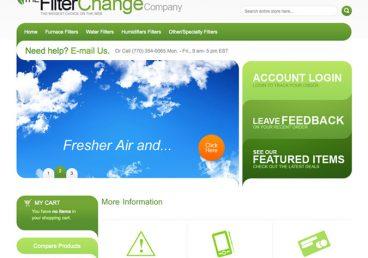 Portfolio Image of Filter Change