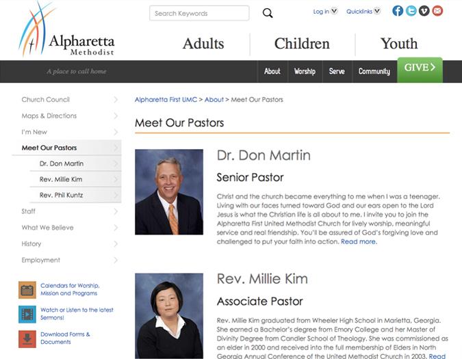Portfolio Image of Alpharetta About