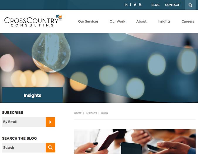 Portfolio image of CCC-blog