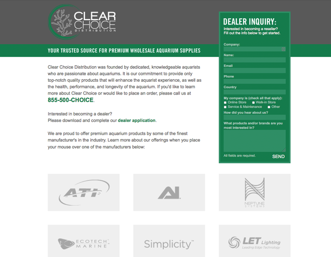 Portfolio image of Clear Choice Distribution