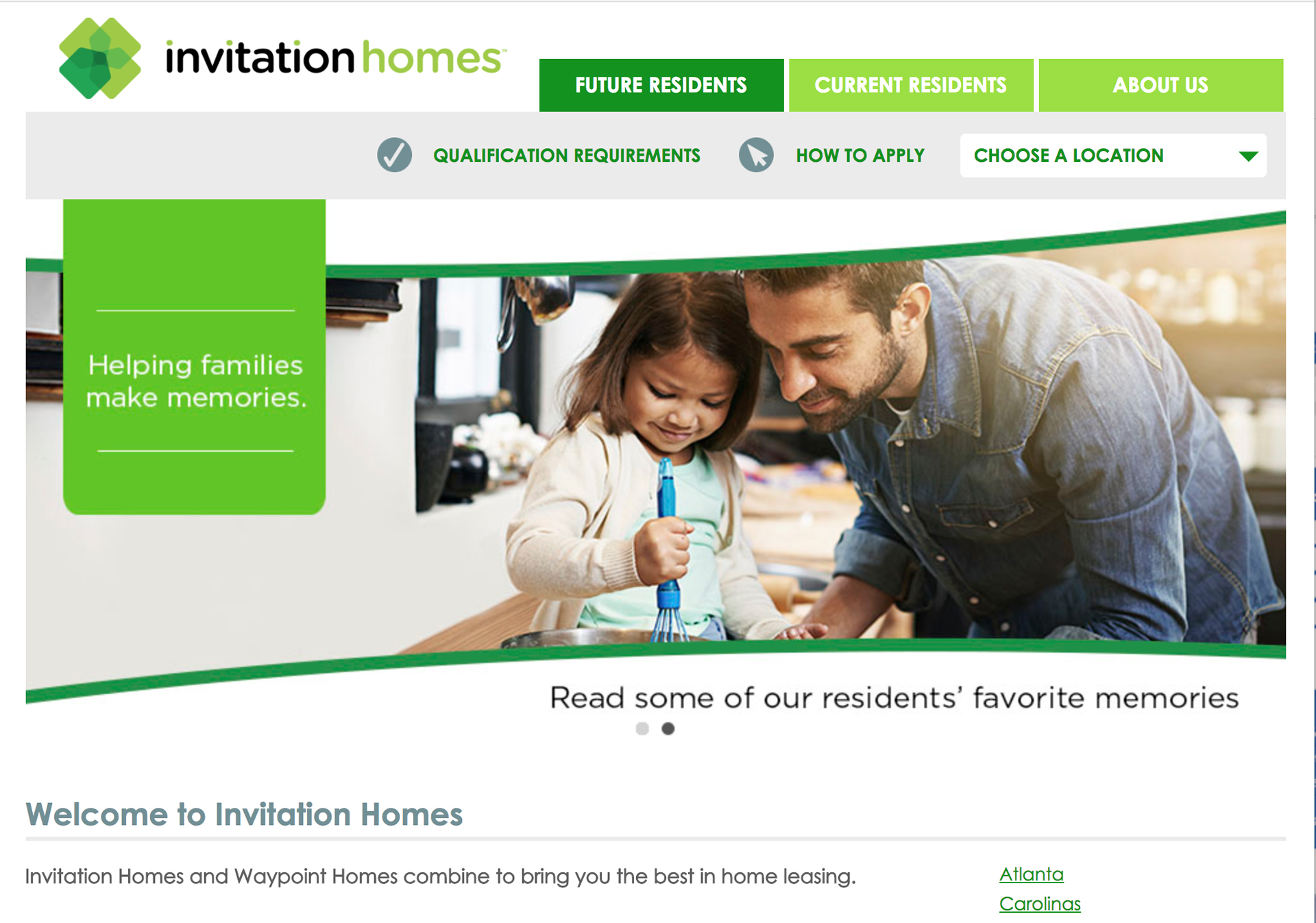 Invitation homes ydo website design and custom web development stopboris Images